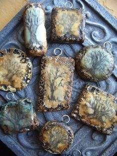 Jewelry / Love these tree pendants from Gabriel. Have used her pendants many times with creations :)