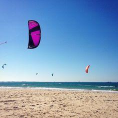 From vickjouIt is on ! #Kitesurf #Kite #LoveIt #Water #Bretagne #Jumpwater,jump,kite,kitesurf,bretagne,loveit