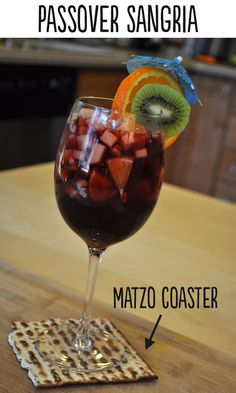 How To Make Delicious Sangria For Passover - Plus, an ingenious new use for matzo.