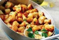 Ο Σεφ της Agrimon ετοιμάζει για την Τετάρτη: Πικάντικες πατάτες γιαχνί στο φούρνο