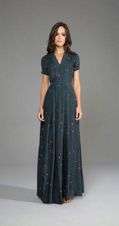New Ideas Dress Long Modest Fashion Styles Trendy Dresses, Modest Dresses, Modest Outfits, Modest Fashion, Hijab Fashion, Dress Skirt, Dress Up, Dress Long, Long Dresses