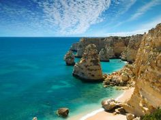 Atlantic way: As well as stunning beaches, the Algarve also has a selection of trails for walkers and cyclists.
