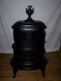 Koppe german made burn coal or wood koppe airtight for Decorative rocket stove