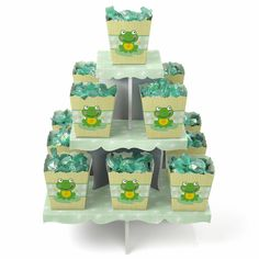 Froggy Frog - Baby Shower Candy Stand | Baby Shower Ideas for Spring
