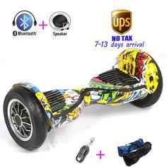 10 inch Skateboard Electric Unicycle Drift Self Balancing skywalker overboard Hover board stand scooter balancing Hoverboard