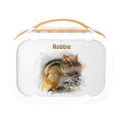 Chipmunk Lunch Boxes #zazzle #lunchbox #chipmunk