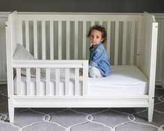 To add extra value to a crib built by McIntyre Furniture, LLC they can be converted into a toddler bed and into a head board for a full size bed. Cribs, Toddler Bed, Board, Instagram Posts, Furniture, Home Decor, Cots, Child Bed, Decoration Home