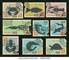 Αποτέλεσμα εικόνας για greek stamps aquatic animals