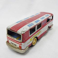 Vintage Toys - Vintage Chinese tinplate friction bus for sale in Cape Town… Buses For Sale, Cape Town, Vintage Toys, Wooden Toys, Chinese, Car, Wooden Toy Plans, Old Fashioned Toys, Wood Toys