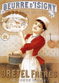 Affiches anciennes fromages