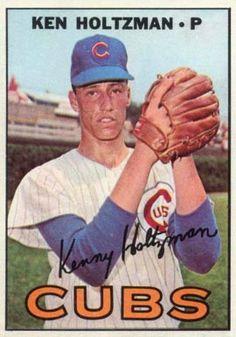 185 Ken Holtzman 1967 Topps