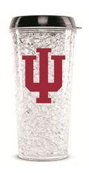 Indiana Hoosiers Crystal Freezer Travel Tumbler
