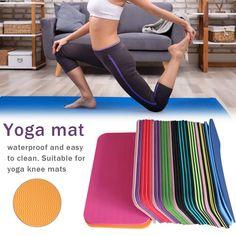 Yoga Mat Knee Pad Non-slip Anti Slip Moisture-resistant Yoga Mats For Plank Floor Workouts, Fun Workouts, Yoga Pad, Yoga Movement, Foam Flooring, Yoga Moves, Types Of Yoga, Mat Exercises, Wave Pattern