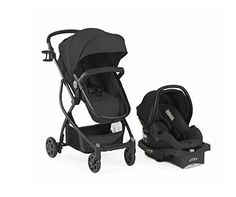 Modern #Lightweight Compact #Travel #System Reclining Buggy Stroller With Infant Baby Car Safety Seat Set (Black)