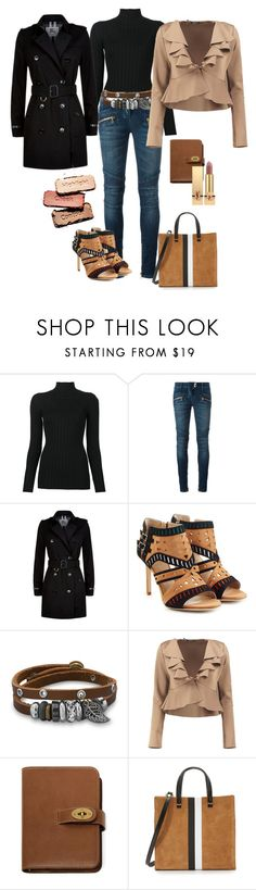 """Untitled #163"" by klm62 ❤ liked on Polyvore featuring Victoria Beckham, Balmain, Burberry, Tamara Mellon, BillyTheTree, Boohoo, Mulberry, Clare V. and Yves Saint Laurent"