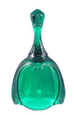 Fenton Gift Shop Emerald Green Bell