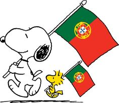 Snoopy & Woodstock do Portugal