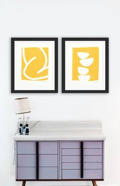 This item is unavailable Wall Art Sets, Large Wall Art, Wall Art Prints, Yellow Wall Art, Pink Art, Abstract Wall Art, Modern Wall Art, Fine Art Paper, Printable Wall Art