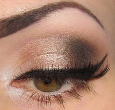 minus the eyeliner...keep it natural.