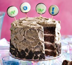 Stack up our best-ever chocolate sponges and smother in an Oreo biscuit icing to make this towering celebration cake