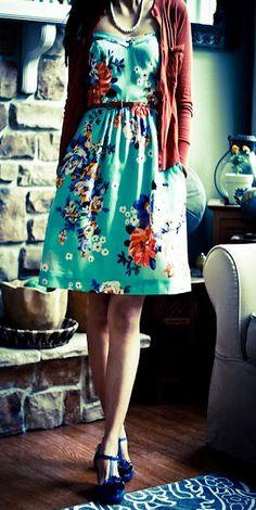 floral. very vintage.