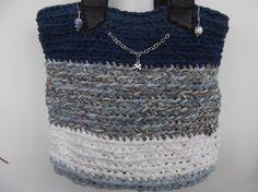 S.S. Lucky bag  boho tote leather strap by SorinelaSavini on Etsy