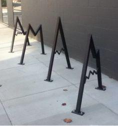 BikePortland.org » Blog Archive » Vancouver gets its first artistic bike rack