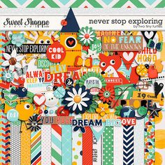 Never Stop Exploring by Two Tiny Turtles Tiny Turtle, Never Stop Exploring, Turtles, Digital Scrapbooking, Kids Rugs, Joy, Memories, Make It Yourself, Cool Stuff