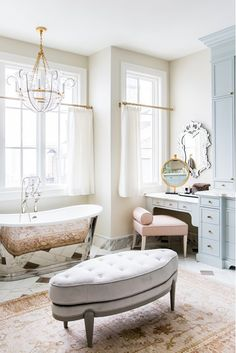 Project in Brief - Rach Parcell Home Bathroom Interior Design, Interior Decorating, Home Luxury, Shabby, Traditional Decor, Beautiful Bathrooms, House Rooms, Bathroom Inspiration, Decoration