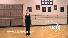 Cues to make a toe touch pop