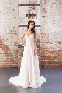 Estilos de vestidos de novia sencillos