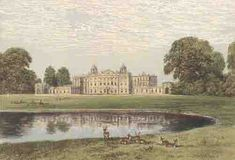 Capability Brown's Badminton House in Gloucestershire, England