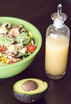 Summer Salads - always looking for a good dressing. Love that this recipe uses agave nectar....John loves peach nectar, so I'll sub in that!! YUM!