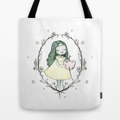 the tree of life is growing tote bag by cocinando colores