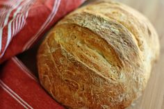 "No-knead Artisan Bread In ""5"" Minutes"