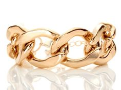 Helena gold link bracelet / OpenSky   # Pinterest++ for iPad #