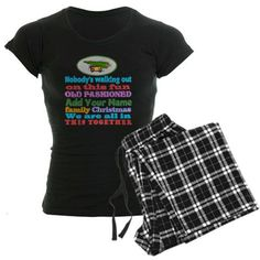 Personalized Griswold Pajamas  #Griswold Family ADD NAME #Christmas with station wagon, Christmas tree and squirrel lots products #ClarkGriswold for all of this design click here - http://www.cafepress.com/dd/102324590