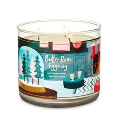NO FREE SHIPPING BATH AND BODY WORKS CANDLE BUTTER RUM EGGNOG SCENT NEW BBW BATH & BODY WORKS Bath Candles, Candle Jars, Bath And Body Works Perfume, Home Scents, Wax Melts, B & B, Cozy House, Coffee Cans, Rum