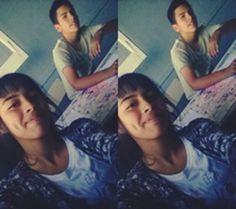 Con mi compañero Juan
