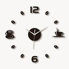 Reloj de Pared Hora del Café | Relojes de Pared