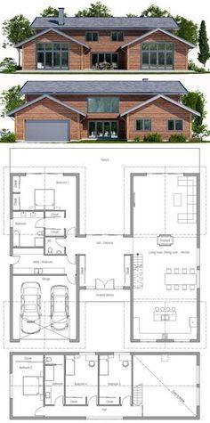Modern Farmhouse / Home Plan