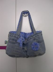 tutorial borsa da riciclo jeans