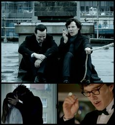 """Admit it: you loved Mark Gatiss' """"The Empty Hearse"""" as much as it drove you crazy. (Sherlock, series 3)"""