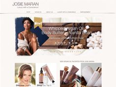 Discover ecommerce stores and successful stories across many categories, including clothing, electronics, health and beauty, and more. Josie Maran, Body Butter, Health And Beauty, Ecommerce, Shop Now, Success, Cosmetics, Whipped Body Butter, E Commerce