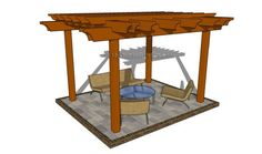 Free Pergola Plans | MyOutdoorPlans | Free Woodworking Plans and Projects, DIY Shed, Wooden Playhouse, Pergola, Bbq