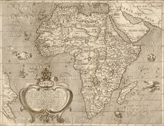 This+great+antique+16th+century+map+of+Africa+can+really+transform+a+room,+both+in+the+home+or+office.  Complete+with+sea+monsters+and+sailing+ships+this+will+create+a+great+talking+point.  Product+Fe...