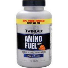 Better quality!  150 tabs TwinLab Amino Fuel 1000 Mass get better quality #TWINLAB
