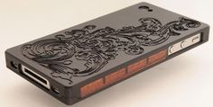 wood and metal iphone case 2