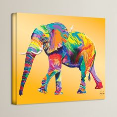 """Found it at Wayfair - """"The Ride"""" Graphic Art on Wrapped Canvas"""