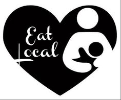 Our 'Eat Local' decal is the perfect way to show the world that breastfeeding is normal, natural, and supported! Nursing and breastfeeding moms will love the opportunity to show others their support!